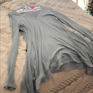 Comfy Anthropology Long Sleeve V-Neck Shirt
